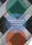 Intercultural Studies of Curriculum