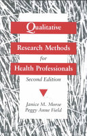 Qualitative Research Methods for Health Professionals Be Used As A Supplement Or A Core