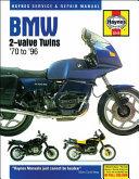 BMW 2 Valve Twins  70 to  96