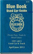 Kelley Blue Book Used Car Guide April   June 2012