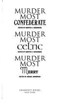 Murder Most Confederate Book PDF