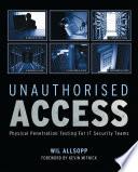 Unauthorised Access