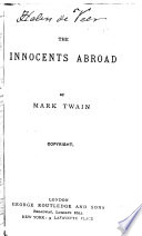 The Innocents Abroad