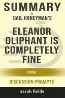 Eleanor Oliphant Is Completely Fine Pdf [Pdf/ePub] eBook