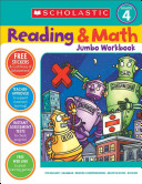 Scholastic Reading   Math Jumbo Workbook Grade 4
