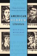 American Hebrew Literature