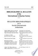 Bulletin bibliographique de la Société internationale arthurienne