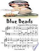 Blue Beads - Easiest Piano Sheet Music Sheet Music Junior Edition