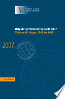 Dispute Settlement Reports 2007: Volume 4, Pages 1205-1646