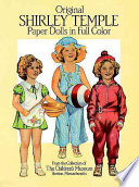 Original Shirley Temple Paper Dolls book