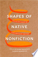 Shapes of Native Nonfiction Book PDF