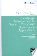 Knowledge Management in Tourism