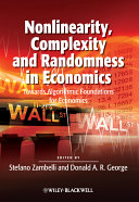 Nonlinearity  Complexity and Randomness in Economics