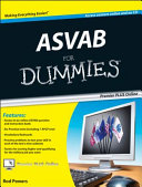 ASVAB For Dummies  Premier Plus  with Free Online Practice Tests
