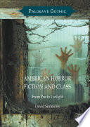 American Horror Fiction And Class book