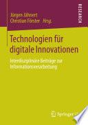 Technologien für digitale Innovationen