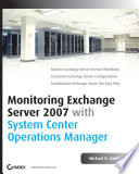 Monitoring Exchange Server 2007 with System Center Operations Manager