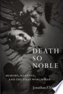 Death So Noble