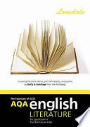 AQA GCSE English Literature a Short Stories Pre 1914 Poetry