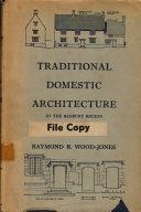 Traditional Domestic Architecture of the Banbury Region