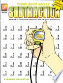 Timed Math Drills Subtraction book