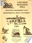 Carlsbad resource management plan and environmental impact statement