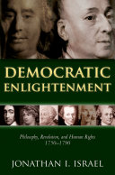 download ebook democratic enlightenment: philosophy, revolution, and human rights 1750-1790 pdf epub