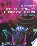 Electricity for the Entertainment Electrician   Technician