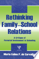 Rethinking Family school Relations
