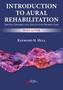 Introduction to Aural Rehabilitation Book