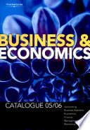Business and Economics Cat 2005 06