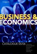 Business and Economics Cat 2005/06