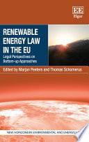 Renewable Energy Law in the EU