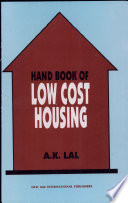 Hand Book of Low Cost Housing