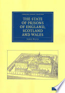 The State Of Prisons Of England Scotland And Wales