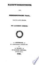 Handwoordenboek der nederlandsche taal, naar de laatste spelling