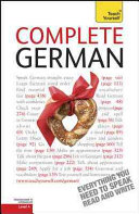 Complete German  A Teach Yourself Guide
