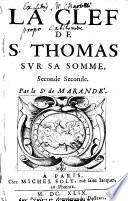 La Clef de S. Thomas sur sa Somme