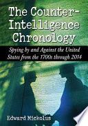 The Counterintelligence Chronology