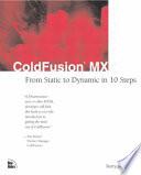 ColdFusion MX Site Using Cold Fusion Mx