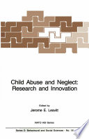 Child Abuse and Neglect  Research and Innovation