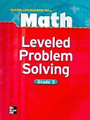 MATH GRADE  3   LEVELED PROBLEM SOLVING MACMILLAN MCGRAWHILL