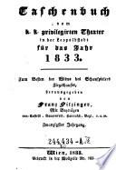 Taschenbuch vom K.-K. P. Theater in der Leopoldstadt