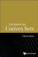 Lectures on Convex Sets