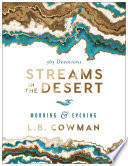 Streams in the Desert Morning and Evening