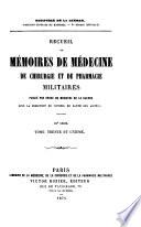 illustration Recueil de mémoires de médecine, de chirurgie et de pharmacie militaires