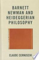 Barnett Newman And Heideggerian Philosophy