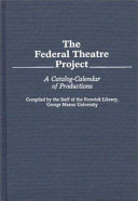 The Federal Theatre Project