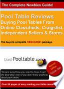 Pool Table Reviews
