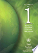 Yearbook of the United Nations The United Nations System Including Those Of
